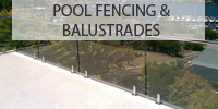 Pool fencing and balustrades